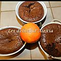 Fondants aux chocolats