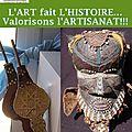 L'artisanat, au coeur de la Coopération Panafricaine de la Société Civile