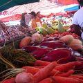 fruits et légumes au marché de St Paul