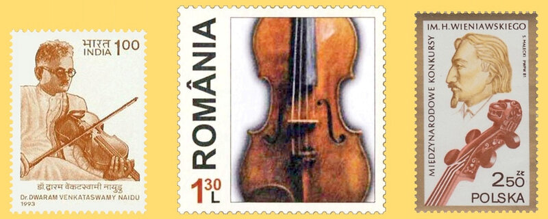 Timbre Inde Roumanie Pologne