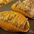 Feuilletés aux amandes pâte filo