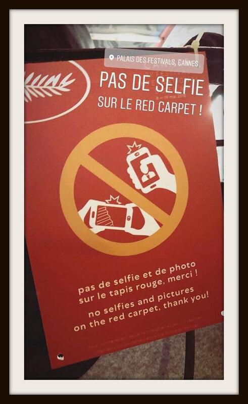 cannes selfies