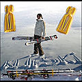 Porte skis et bâtons et porte chaussures de ski - klipski