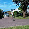 Vacances en Normandie de Capucine en 2015