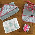Kit naissance (couture + tricot)