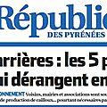 <b>Carrières</b> en Béarn