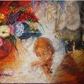 Les peintures d'Anne-Marie