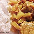 Sauté de filet mignon de porc à l'ananas