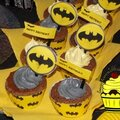 Sweet table batman - etape 4 : les cupcakes