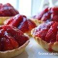 Tartelettes aux fraises et crème patissière