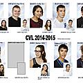 Les élèves élus en 2014 au cvl