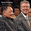 1979 - PLUSIEURS RESPONSABLES OCCIDENTAUX VONT FAIRE LE JEU DE LA CHINE