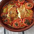 Filets de cabillaud et pommes de terre aux œufs au four