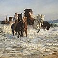 Three thousand years of the horse in art displayed at the national gallery of victoria