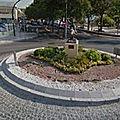 Rond-point à La <b>Cala</b> Del Moral (Espagne)