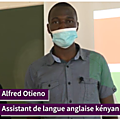 Portrait : Alfred, Kényan, <b>assistant</b> de langue anglaise