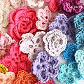 ▼▲ yarn bombing flowers ▼▲
