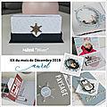 <b>DT</b> Fée du scrap - Kit du mois de décembre