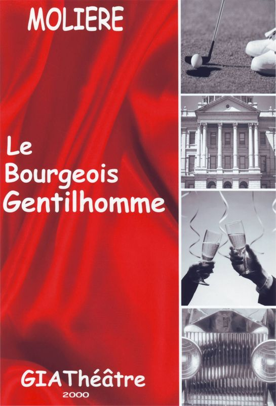 Affiche Bourgeois Gentilhomme