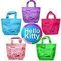 petit sac en intissé - Hello Kitty - <b>couleur</b> au <b>choix</b>.