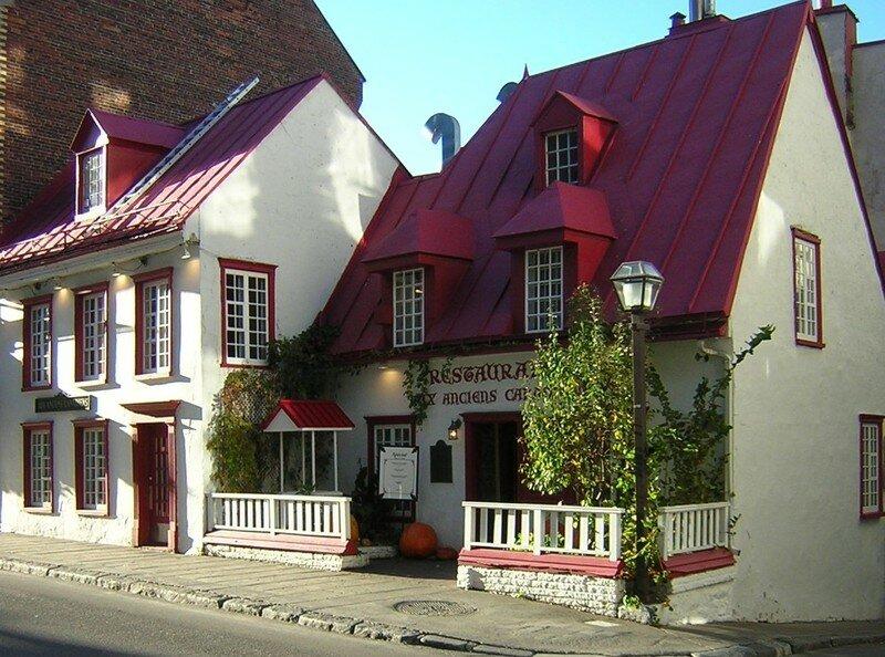 Le restaurant Les Anciens Canadiens