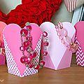 Boites coeur pour la fêtes des mères