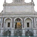 Trastevere - Promenade sur le Janicule (8/10). La Fontaine de l'acqua Paola.