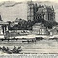 Nantes ancien - La Loire à Richebourg