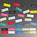 Nouveau distributeur de plaques de boite aux lettres