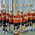 Handball : belle saison des jeunes pousses du crahb !