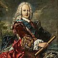 Giovanni Antonio Guardi (1699 Vienna - 1760 Venice), Portrait of <b>Ferdinand</b> <b>VI</b> of Spain