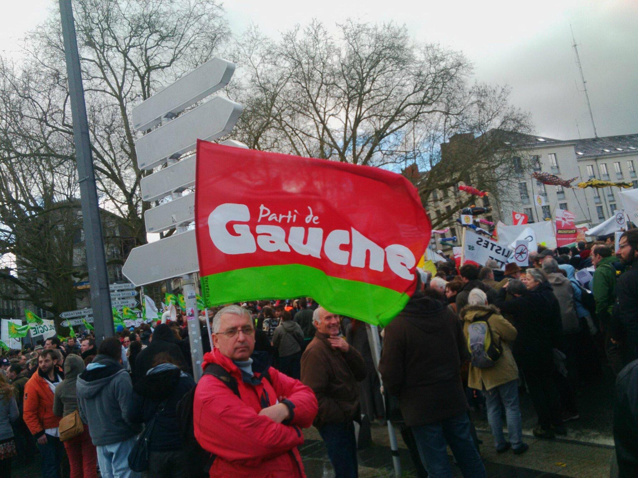 Manif contre NDDL à Nantes (22 février 2014) - cliché ©PG80 -