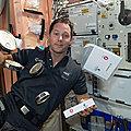 Des chocolats français à bord de la Station spatiale