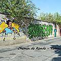 [street art in valence] le long du chemin de ronde...
