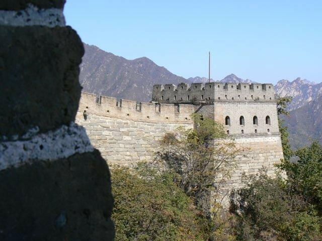 Une tour de garde de la Muraille de Chine