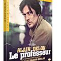 Sortie DVD : Spécial Alain Delon/ Le professeur