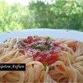 Spaghetti sauce à la