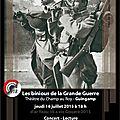 Les binious de la guerre 14-18 : un concert lecture inédit