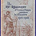 Historique du 19e r.i.