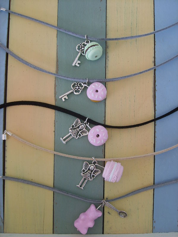 Bracelets gourmands en daim