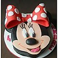 Gâteau minnie mouse