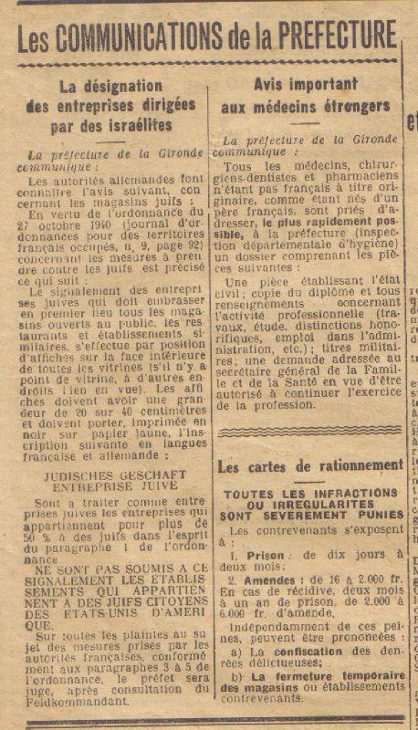 46 mercredi 23 octobre 1940