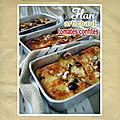 Flan aux artichauts, tomates confites & noisettes (cuisine du placard)