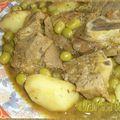 Tajine de veau pomme de terres olives et citron confit2