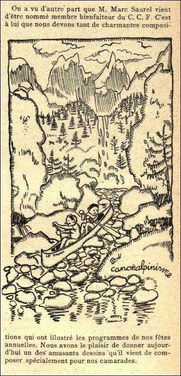 Bulletin CCF mars 1924 dessin M Saurel web