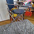 La chaise haute vintage