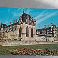 Ecouen - chateau datée 1990