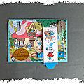 Animation en école : cartes cascade aux perforatrices