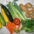 La soupe de legumes du dimanche soir pour petits et grands