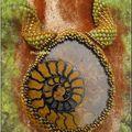 Ammonite en spirale